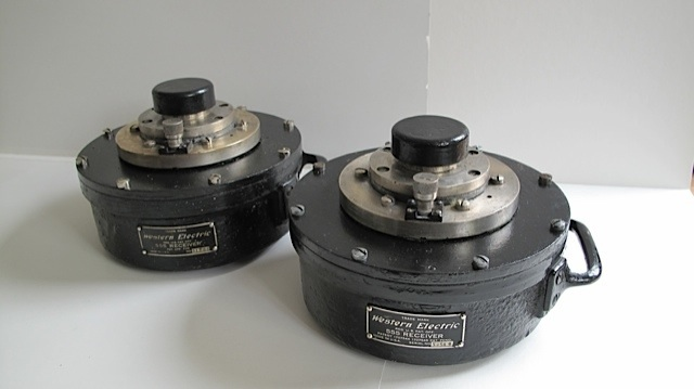 Western Electric 555 with Red Dot diaphragms